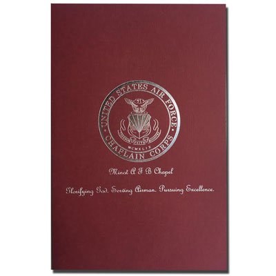 "Right Pocket 5-7/8"" x 9"" Foil Stamped Welcome Folders"