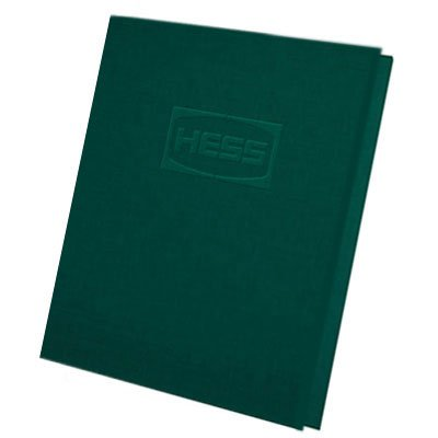 9.75 x 12 File Reinforced Tab Folders - Embossed, Two Pockets
