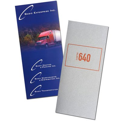 "Right Pocket 4"" x 9"" Printed Folders"