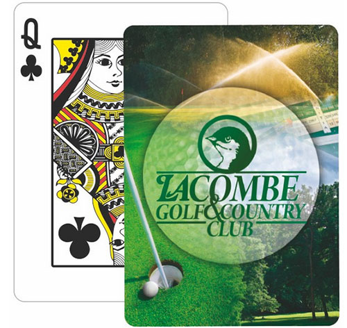 Golf Poker Size Playing Cards
