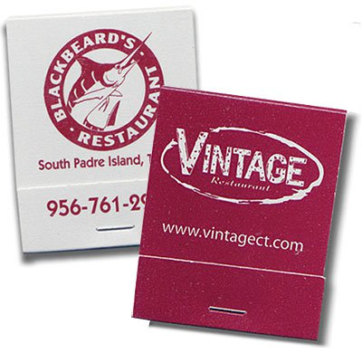 Custom printed personalized promotional matchbooks and matchboxes colourmoves