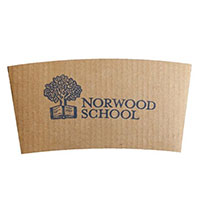 Corrugated Kraft Coffee Sleeves