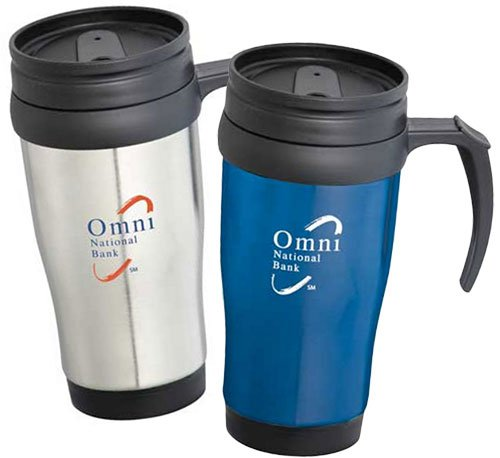 14 oz. Stainless Steel Travel Mugs