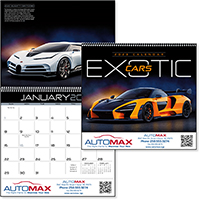 Exotic Cars 12 Month Calendars