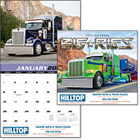 Big Rigs 12 Month Truck Calendars