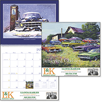 Junkyard Classics 12 Month Car Calendars