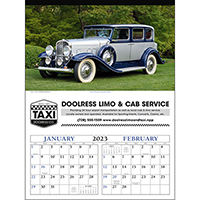 Antique Cars 6 Sheet Calendars