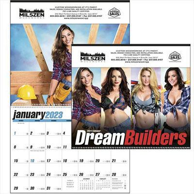 Dream Builders Pin-up Calendars