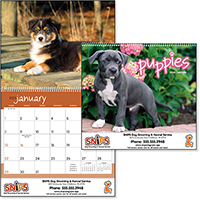 Puppy 12 Month Pet Calendars