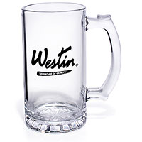 15 oz. Tankard Glass Steins