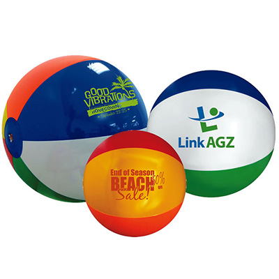 Beach Balls, Multi-Color 6""