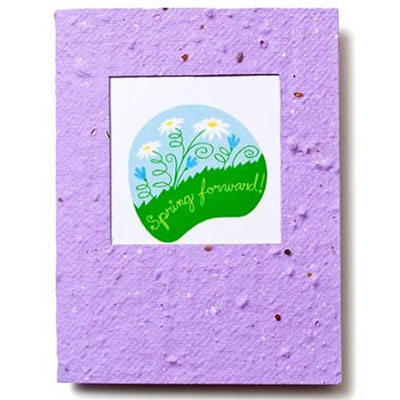 5.25 x 4 Square Window Plantable Cards with Envelopes
