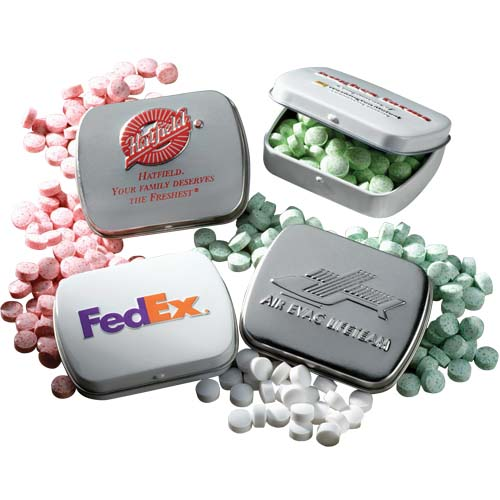 Mints, Embossed Tin, Kosher