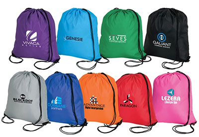 Large Nylon Drawstring Bags