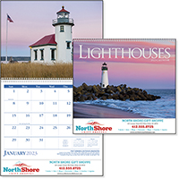 Scenic Lighthouse 12 Month Calendars