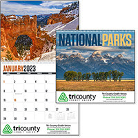 National Parks 12 Month Scenic Calendars
