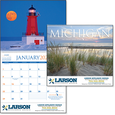 Scenic Michigan Calendars