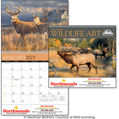 Wildlife Art by the Hautman Brothers Wildlife Calendars