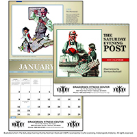 Deluxe Pocket Calendar - The Saturday Evening Post Norman Rockwell