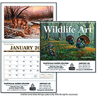 Wildlife Art Pocket Calendars