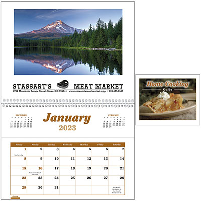 Home Cooking Guide Pocket Recipe Calendars