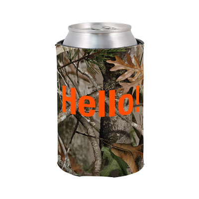 Licensed Camo Scuba Foam Can Holders