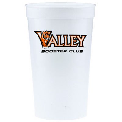 2500 Custom 32 oz. Stadium Cups - High Quantity C-10