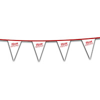 Poly String Pennants, 30 ft. Heavy Duty 8 Mil, Low Quantity