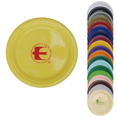 "7"" Colored Plastic Plates"