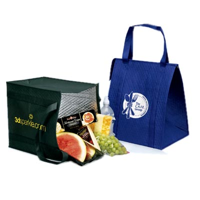 13 x 15 Insulated Non-Woven Poly Therm-O-Totes