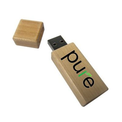 Eco-Friendly Bamboo USB Flash Drives