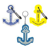 Full Color Anchor Floating Keychains