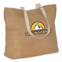 17.75 x 13.75 Natural Jute Reusable Shopping Bags