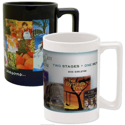 14 oz. Full Color Maui Stoneware Mugs