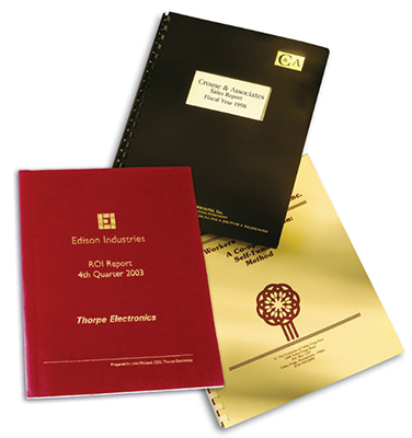 Two Part Poly Report Covers, Two Sizes