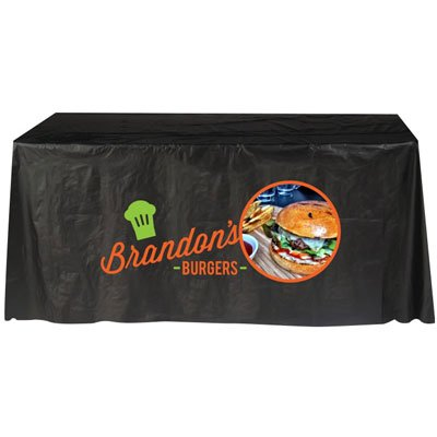 6' Plastic Disposable Table Covers
