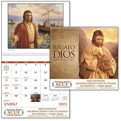 God's Gift Spanish Language Calendars