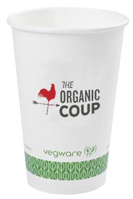 16 oz. Compostable Paper Cups
