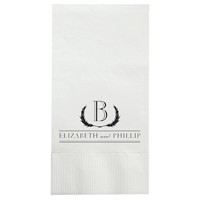 1-Ply White Wedding Dinner Napkins