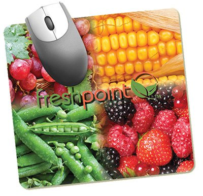 "7-1/2"" x 8"" Recycled Hard Surface Mouse Pads"