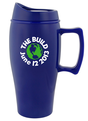18 oz. Eco-Logic Biodegradable Natural Plastic Mugs