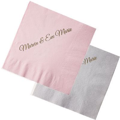 2-ply Light Tone Colored Cocktail Napkins