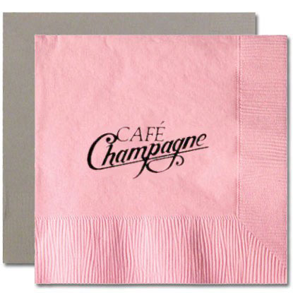 2-ply Pastel Colored Cocktail Napkins