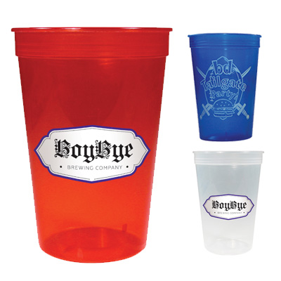 16 oz. Translucent Stadium Cups
