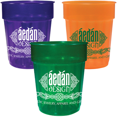 16 oz. Translucent Fluted Stadium Cups