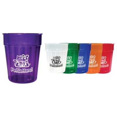 24 oz. Translucent Fluted Stadium Cups