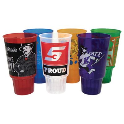 32 oz. Translucent Traveler Stadium Cups