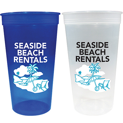 32 oz. Translucent Stadium Cups