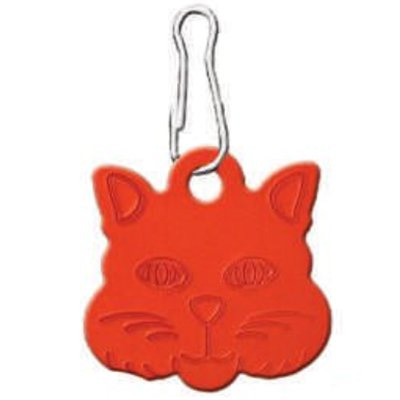 Anodized Aluminum Pet ID Tags, Cat