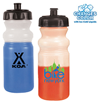 20 oz. Mood Changing Bike Bottles